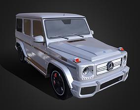 3D asset Mercedes Benz G63