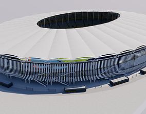 Bukit Jalil National Stadium - Kuala Lumpur - 3D model