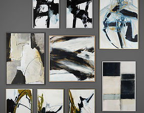 3D Collection of paintings Set 4