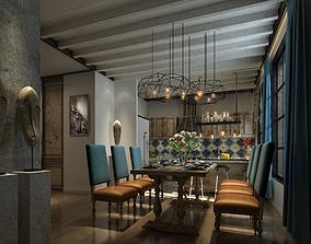 light dining room 3D