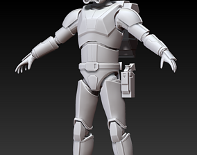 The Bad batch - Imperial Crosshair Full Size Armor 3D 1
