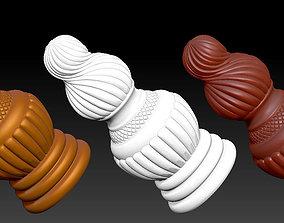 CARVED Furniture set - 003 - 3D print model max