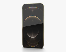 Apple iPhone 12 Pro Gold 3D