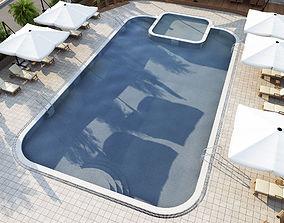 3D equipment swimming pool
