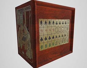 Mahjong Tile Set 3D