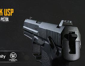 HK USP 3D asset VR / AR ready