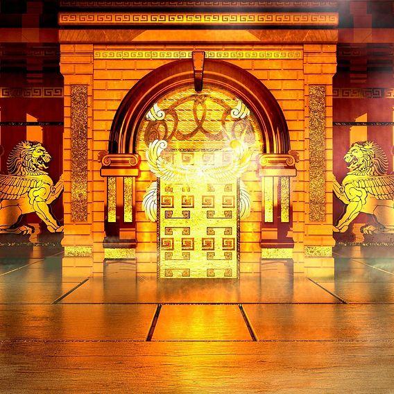 Golden Ancient Palace