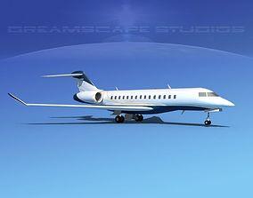 Bombardier Global 5000 V07 3D model