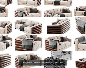 Carpanelli Contemporary DESYO sofa 3D