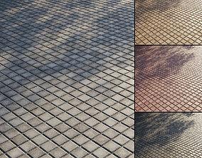 Concrete paving slabs Type 17 3D