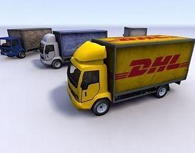 3D asset Truck Collection