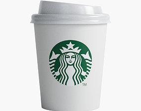 Starbucks Cup 3D asset