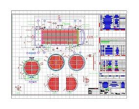 HEAT EXCHANGER - SURFACE AREA 255 m2 3D