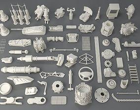 3D Kit bash - 58 pieces - collection-3