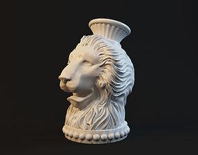 Lion sculpture 3dprint 3D printable model