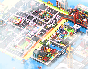 Traffic city 3D model