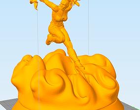 Captain marvel 3D printable model miniatures