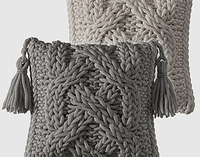 3D model Knitted Pillows