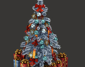 3D asset fir-tree