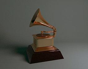 3D print model Grammy award