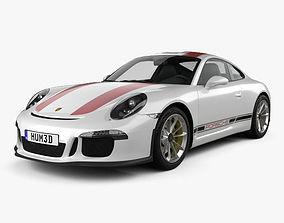 3D Porsche 911 R 991 2017