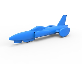 Diecast model Spirit of America jet car 1964 Scale 1 to