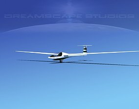 Glaser Dirks DG200 15Mtr Sailplane V04 3D model