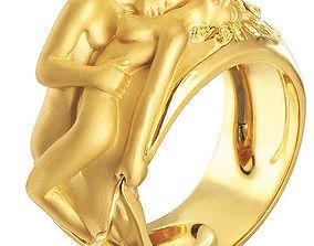 rings ring 3D print model Ring