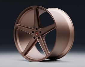 3D model Vossen CG 201 wheel