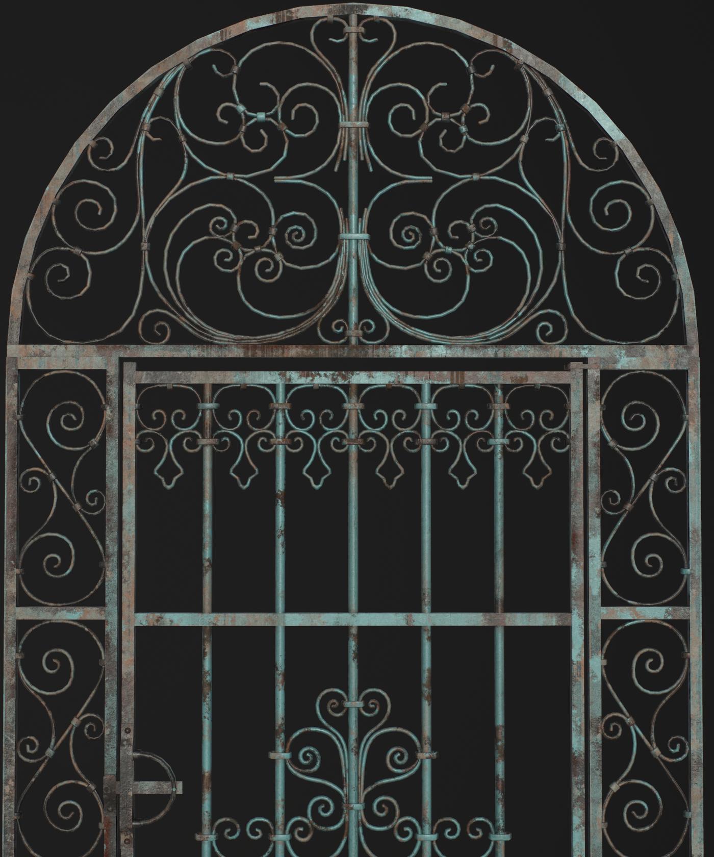 Forged single door