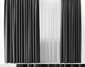 3D model rubber curtains