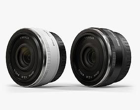 Nikon 1 Nikkor 10mm f 2-8 Lens 3D asset