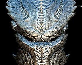 3D model Venom predator bio mask