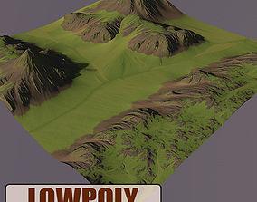 3D model Level Terrain 01