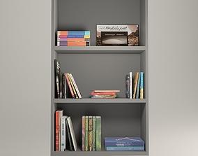 Various Books 3D model