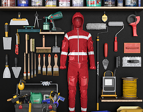 3D model garage tools set 6