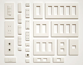 Switch and Outlet Collection 3D