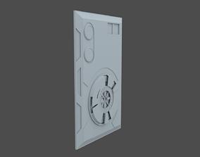 Star Wars Access Panel 3D asset