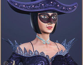 Spades Queen 3D model