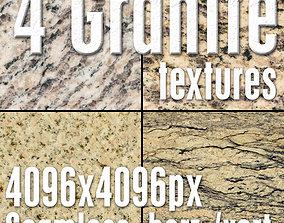 4 High Res Seamless Granite Textures Vol03 Part2 3D model