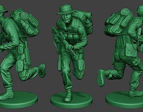 Modern Jungle Soldier Run MJS1 3D print model
