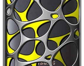 samsung i9220 hole case design 3d model