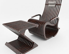 rocking armchair 3D model
