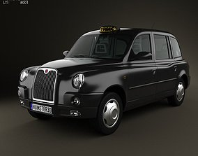 3D LTI TX4 London Taxi