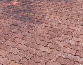 architecture Floor Tiles 3D