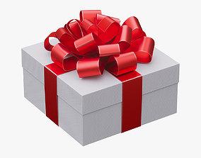 3D Christmas gift box 03
