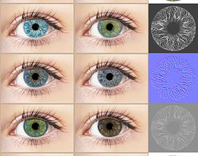 Iris Vol 01 Texture Maps 3D natural