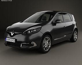 Renault Scenic MPV 2013 3D