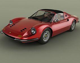 3D model Dino Ferrari 246 GTS