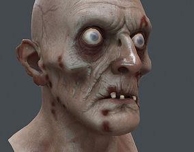 3D model Zombie Lowpoly